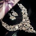 Conjunto Africano de La Joyería de la Venta directa Tl080 Nuevo de Lujo Joyería Nupcial Conjuntos De Collar de Cadena de Novia Accesorios Vestido de novia