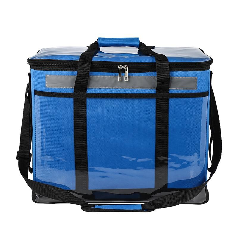 Bagaj ve Çantalar'ten Soğutucu Çantalar'de 51L süper büyük soğutucu çanta termal büyük öğle yemeği piknik kutusu serin omuz buz paketi yemek içecekler şarap serin araç yalıtım çanta'da  Grup 1