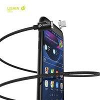 Wsken 2017 nouveau mini 2 métal magnétique câble de données micro usb câbles pour iphone 6 6s 7 android moible téléphone xiaomi samsung huawei lg