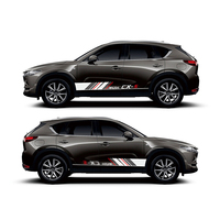 World Datong Sport Stripes Car Stickers For For Mazda CX 5 Mark Levinson Sport Styling Vinyl Decal Car Door Side Decor Stickers