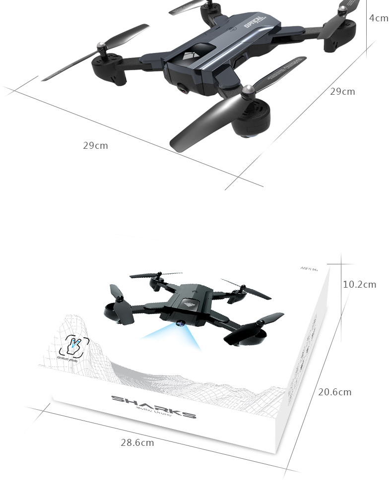 F196 RC Drone With Camera 2MP HD Quadrocopter Altitude Hold Optical Flow Positioning Foldable RC Helicopter Dron VS SG900 XS812 16