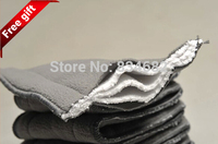 Free Shipping 10pcs Bamboo Charcoal Liner Inserts For Baby Diaper 100% Natural Bamboo Material washable Cloth diaper 5 layers