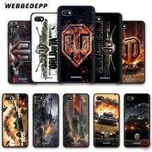 WEBBEDEPP world of tanks мягкий чехол для телефона для Redmi Note 8 7 6 5 Pro 4A 5A 6A 4X5 Plus S2 Go чехол s