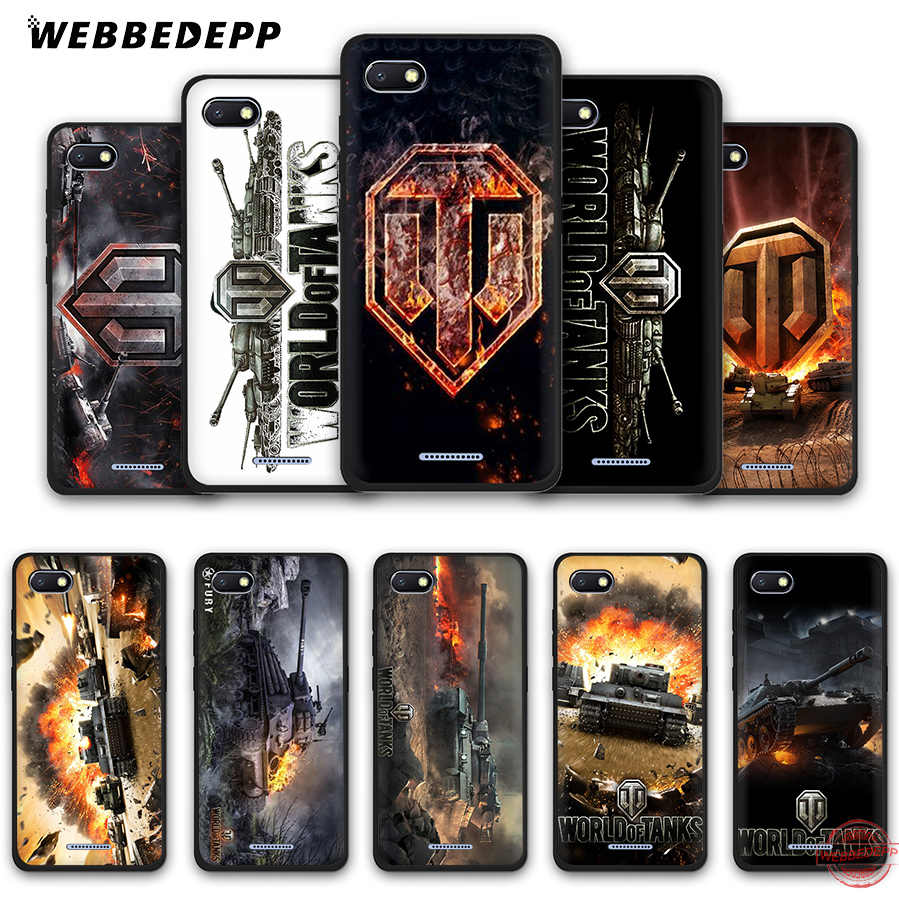 WEBBEDEPP world of tanks Caso Soft Phone para Redmi Nota 8 7 6 5 Pro 4A 5A 6A 4X5 Plus S2 Ir Casos