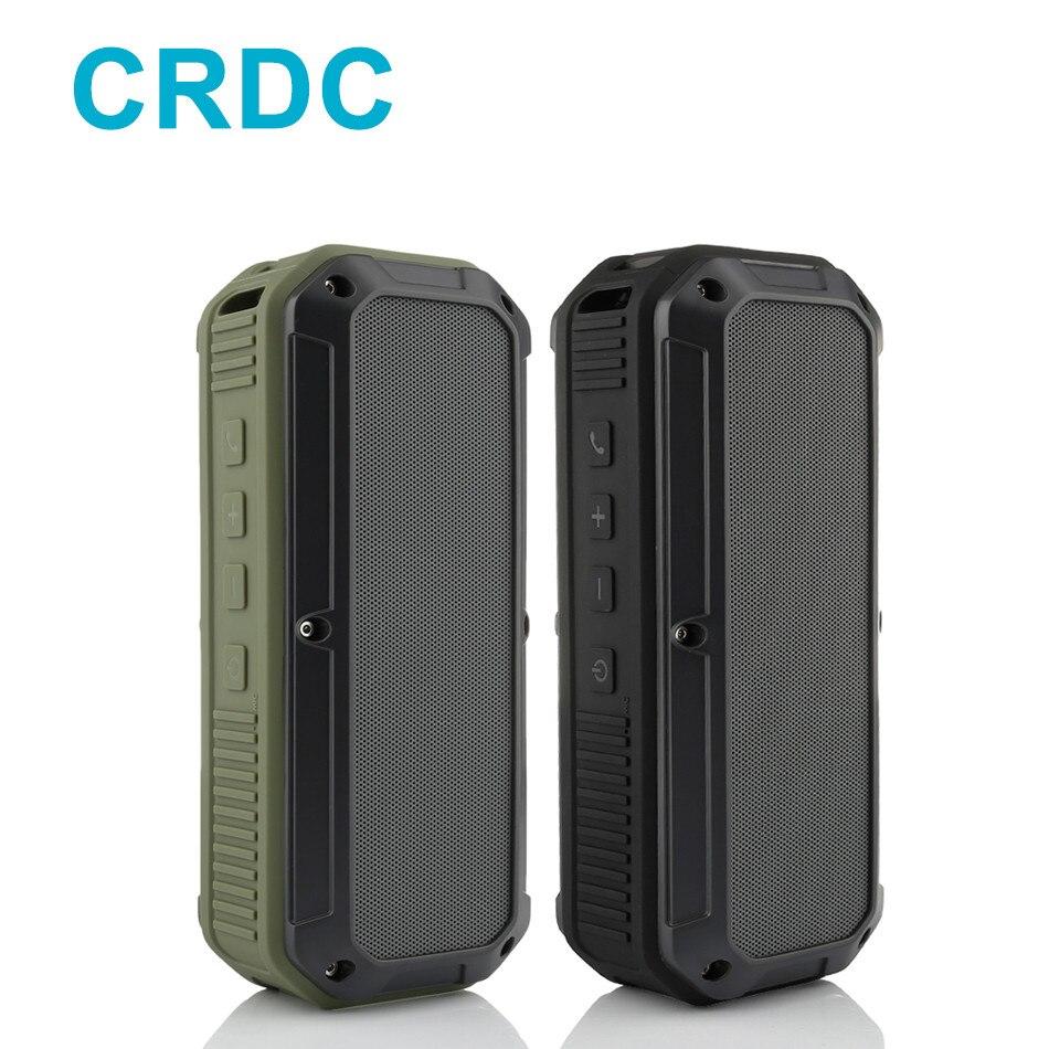 CRDC Bluetooth Lautsprecher 4,0 Wasserdicht IPX6 Tragbare Outdoor Wireless Mini Resonanzkörper Lautsprecher für PC Handy Tablet Laptops