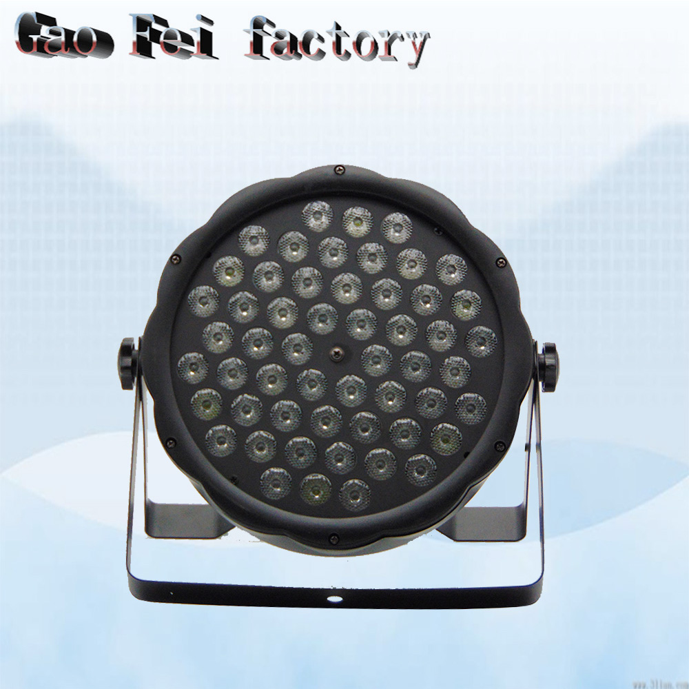 1 pz/lotto led par quad 54x3 w wash dj rgbw 4in1 dmx led flat par luce1 pz/lotto led par quad 54x3 w wash dj rgbw 4in1 dmx led flat par luce