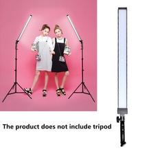GSKAIWEN Luz LED H 600 para vídeo, lámpara de mano, iluminación LED para estudio fotográfico, brillo ajustable de 5600K (no incluye trípode)