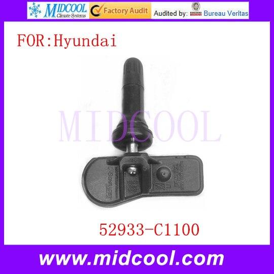 New font b TPMS b font Tire Pressure Monitor Sensor OEM 52933 C1100 52933C1100 for Hyundai