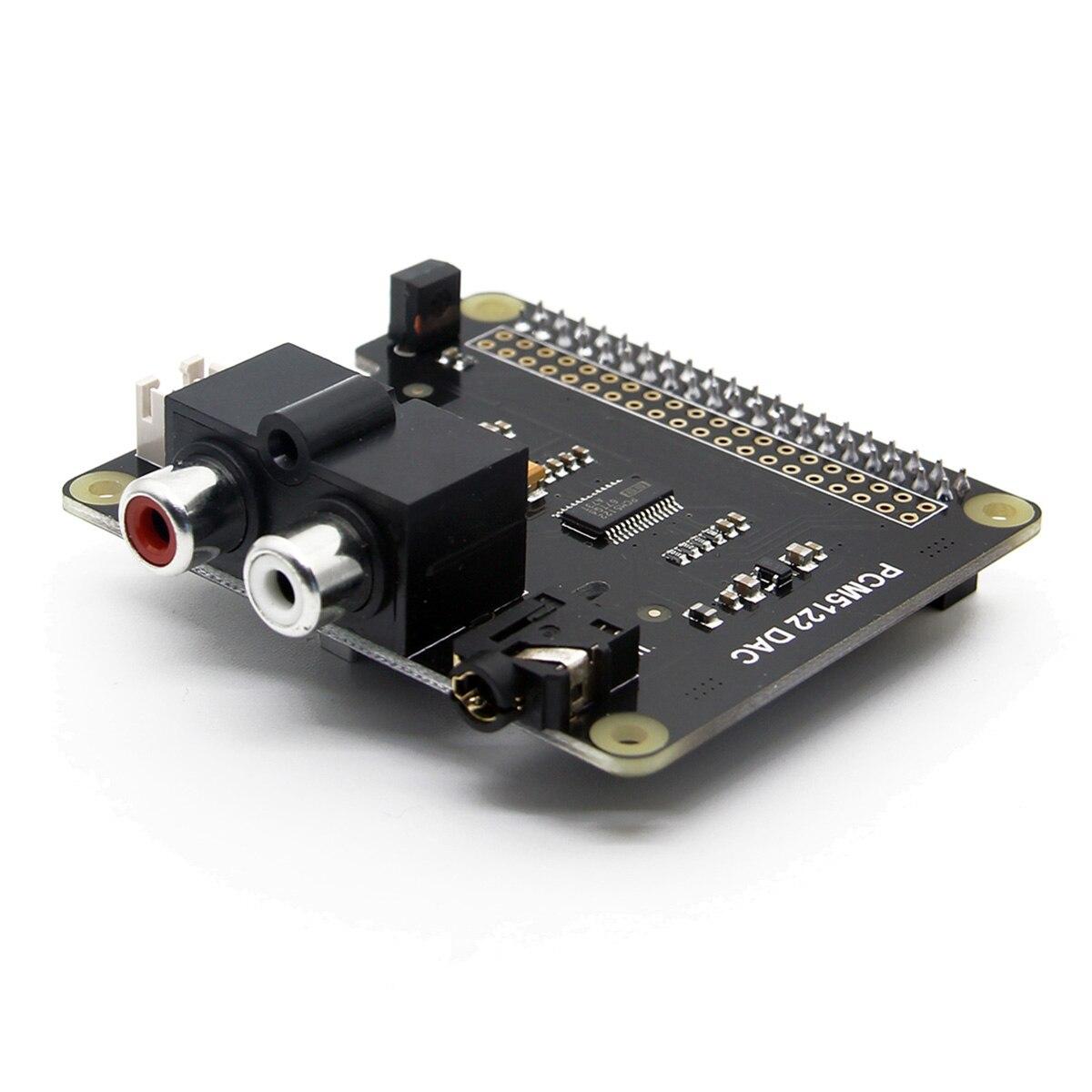 LEORY PCM5122 HI-FI DAC Board DIY Expansion Board X920 For Raspberry Pi 3 Model B / 2B / B+ / A+ / Zero W With 4Pcs Screw