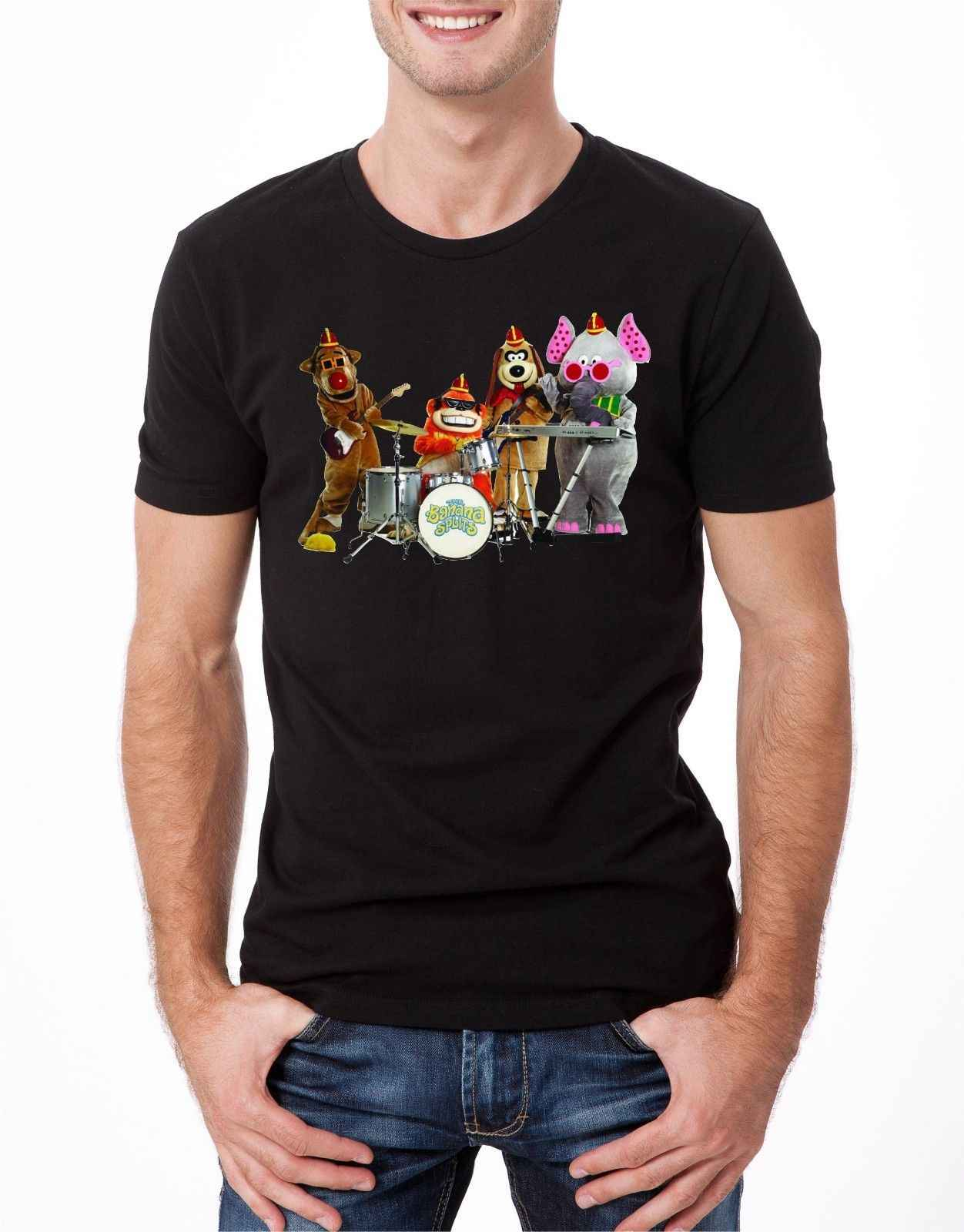 Banaan Splits T-SHIRT Cartoon Kids 80 s 90 s TV Vintage Movie Film Retro Mens BLA Cartoon t-shirt mannen unisex Nieuwe Mode tshirt