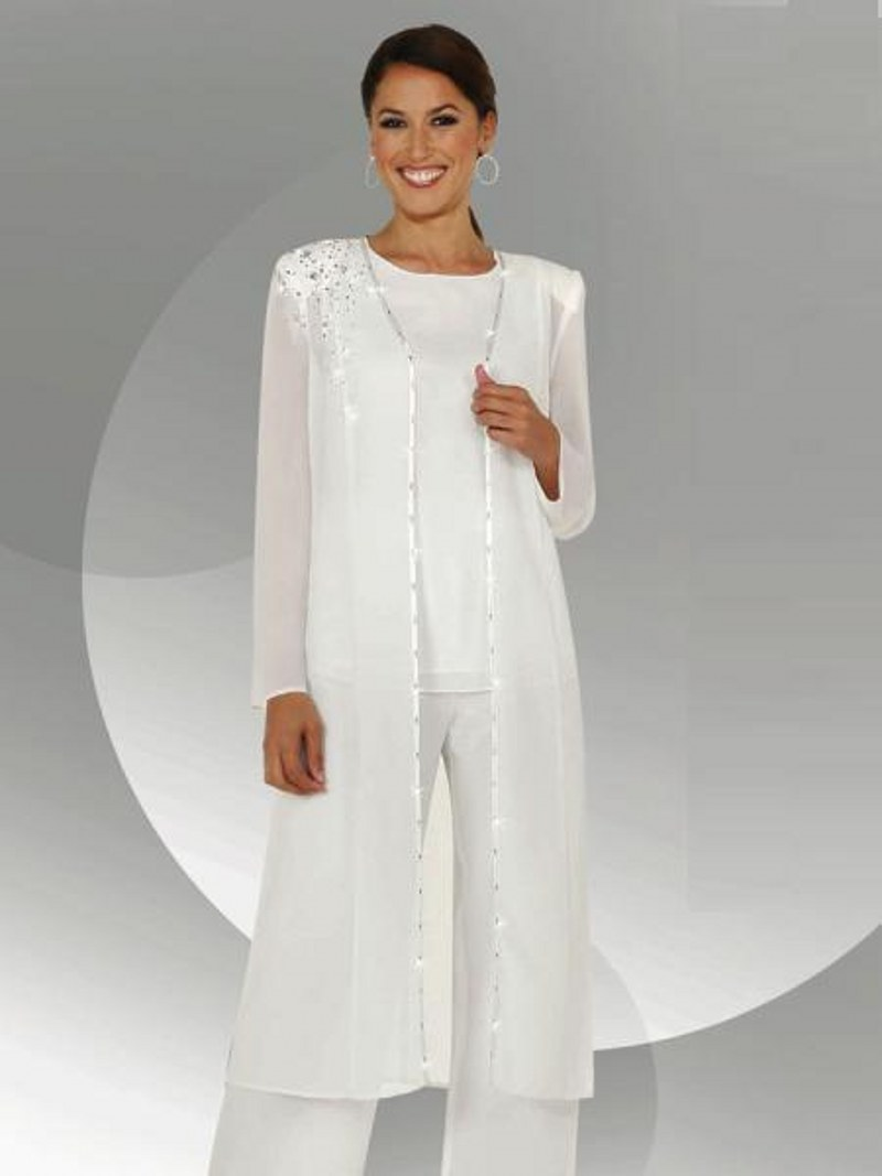 Buy customize mother of the bride pants for Suit dresses for weddings