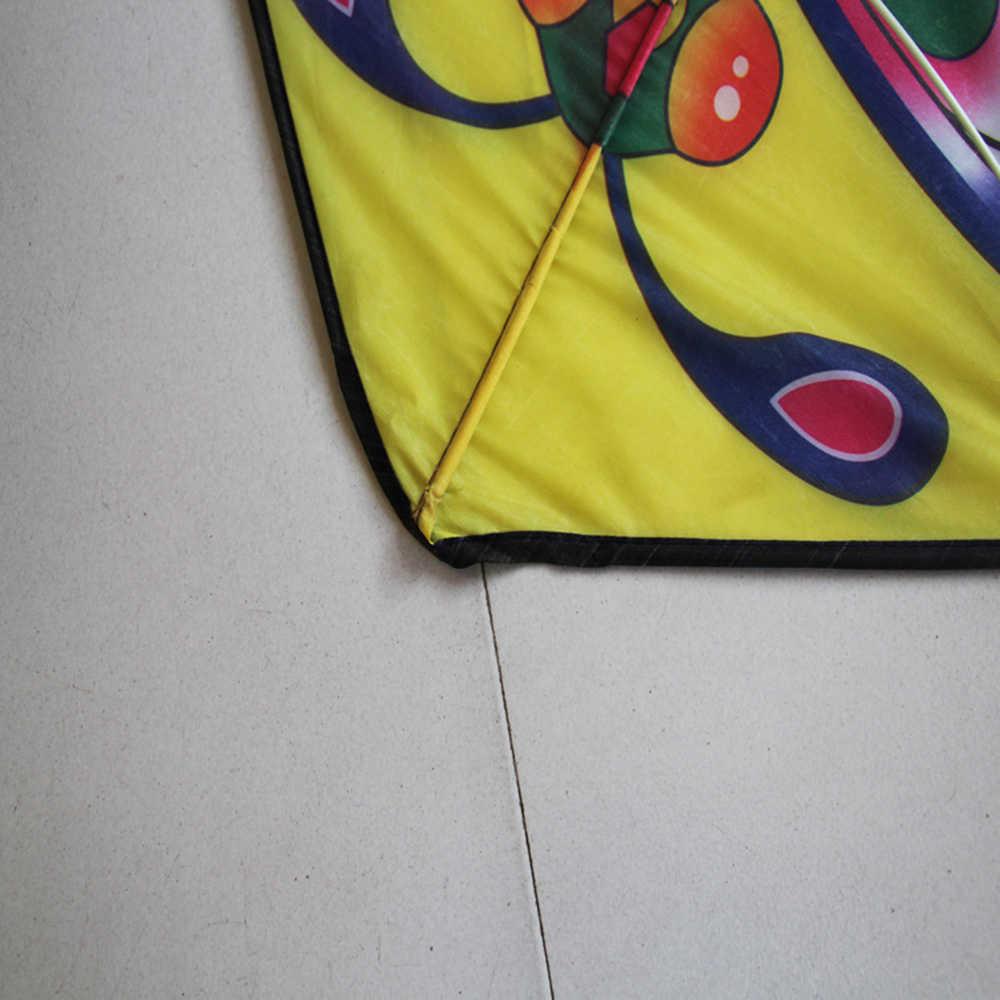 1pcs 90*50CM Esportes Ao Ar Livre Borboleta Pipa Voando com Enrolador de Corda Placa Do Jogo Brinquedo Das Crianças Das Crianças