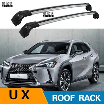 2 adet Çatı barlar LEXUS UX Serisi ux200 5-dr SUV, 2019 + Alümİnyum Alaşim Yan Barlar Çapraz Raylar portbagaj Bagaj SUV