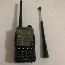 Wielofunkcyjna chowana antena maksymalna 40CM antena do BaoFeng UV 5R BF 888S UV 9R tanie antena Walkie Talkie akcesoria