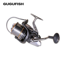 GUGUFISH  11+1BB Ball 8000/10000/12000 series full metal spool Jigging trolling long shot spinning fishing reel Gear ratio 4.7:1