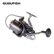 GUGUFISH  11+1BB Ball 8000/10000/12000 series full metal spool Jigging trolling long shot spinning fishing reel Gear ratio 4.7:1