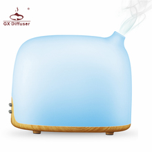 GX.Diffuser New Mini Aromatherapy Aroma Diffuser Ultrasonic Cool Mist Humidifier Colorful LED Lamp 300ML Air Purifier for Baby