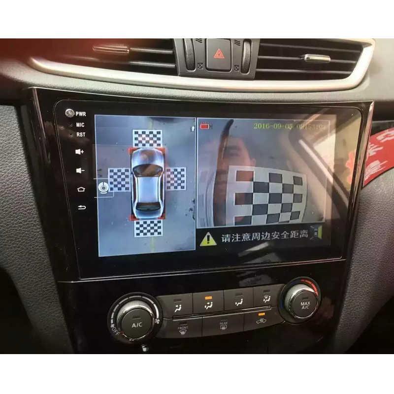 Зеленая 3D Автомобильная камера коррекция Калибровочная ткань для 360 градусов объемного обзора птицы панорамная система DVR отладочная 4 шт./упак.