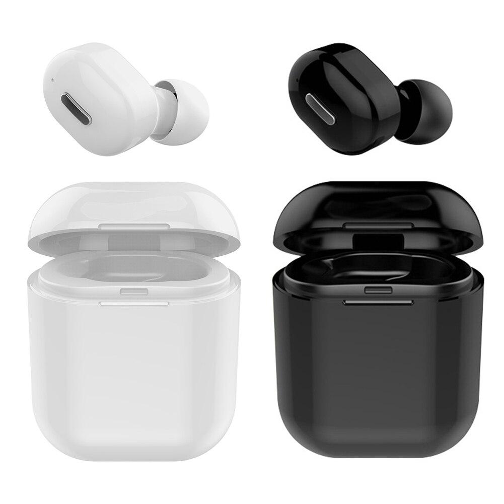 M8 True Wireless Headphones Bluetooth Earphones Mini Waterproof Headfrees with 300mAh Power Bank For iPhone HUAWEI in Bluetooth Earphones Headphones from Consumer Electronics