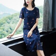 YICIYA Navy Blue Chiffon Dress Xxl Dresses Woman Party Night Plus Size for Big Women 2019 Summer Robe a Line Elegant Clothing цена и фото