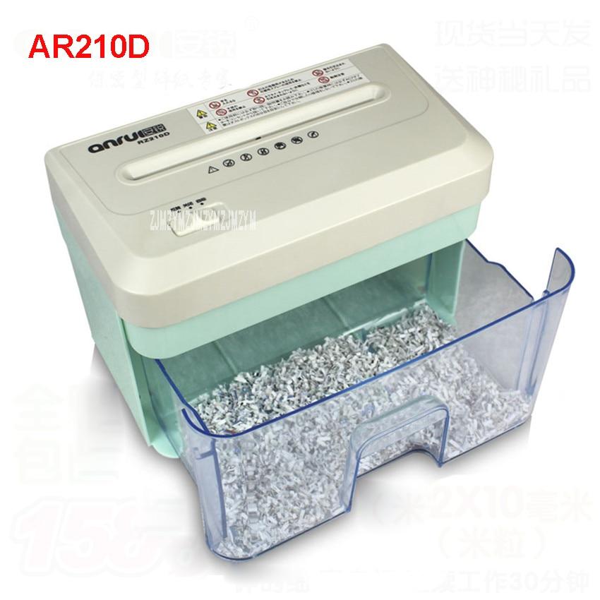 Shredder 2.1l ar210d mini elétrico file Model : Ar210d