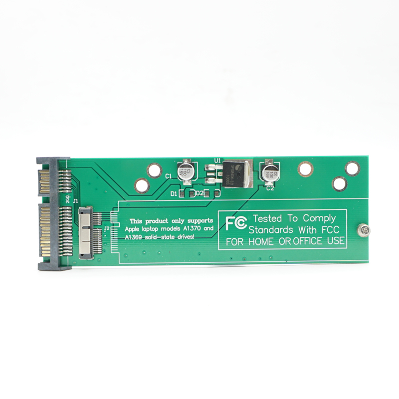 все цены на Adapter Card to 2.5'' SATA for 2010 2011 Apple MacBook Air A1370 A1369 SSD онлайн