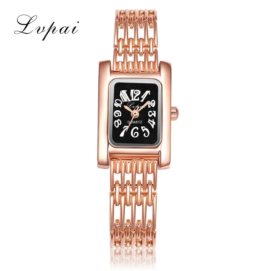 High Quality Brand Lvpai Watch Women Luxury Dress Full Steel Watches Fashion Casual Ladies Quartz Watch Gold Female Wrist Clock
