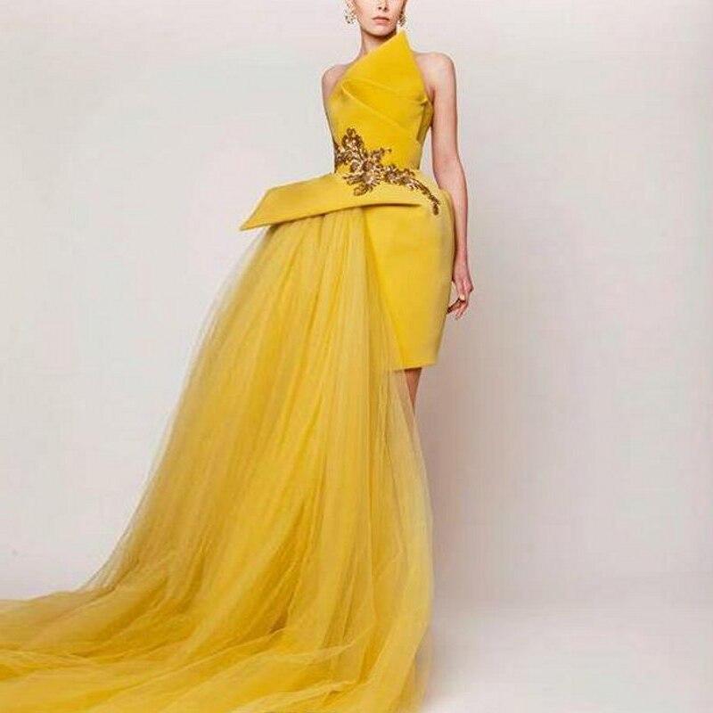 balo elbiseleri   Prom   Gowns robe de bal vestido formatura Lebanon Designer   Prom     Dresses   Tulle Formal   Dress   Beaded gala jurken