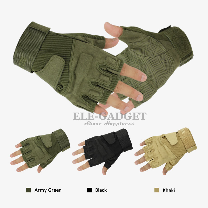 Half Finger Military Tactical Gloves Army Combat Training Gloves For Outdoor Sport Hunt Bicycle Riding CS Hands Protection цена 2017