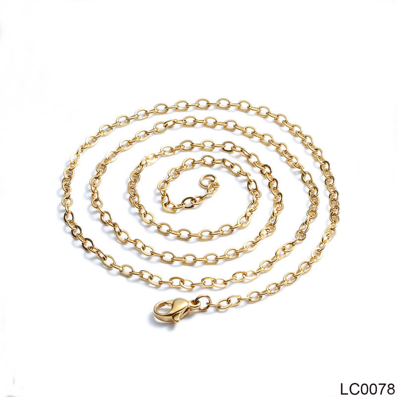 1.5mm Rose Gold Silver Gold Color Stainless Steel Necklace for Women Girl Female Necklace 45-60cm Fashion Jewelry 40cm,45cm,50cm