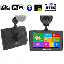 Karadar Car Dash Cam GPS Navigation Android 4 4 2 With Wifi G sensor Full HD1080P