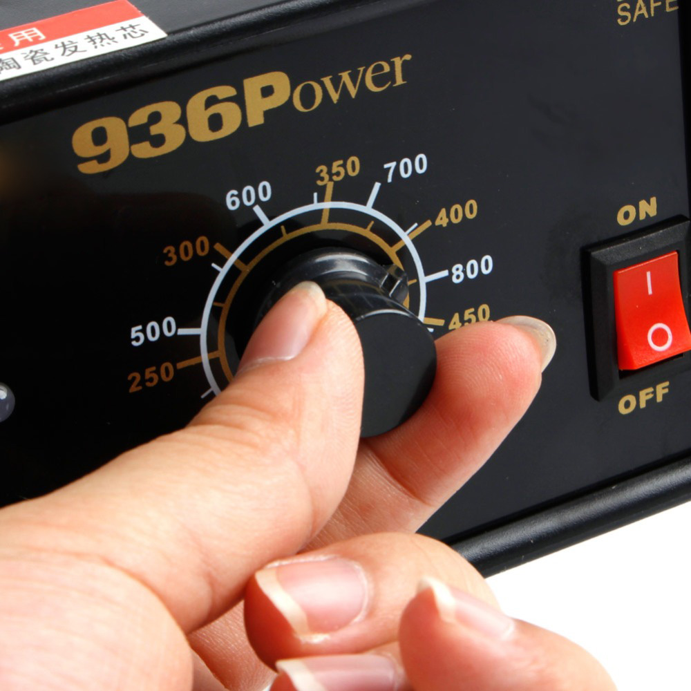 936 Power Electric Soldering Station SMD Rework Welding Iron 110V 220V New 2019