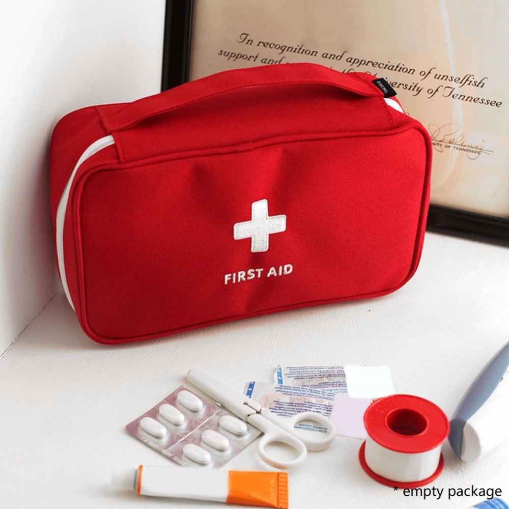 Small Medical Bags Portable Camping Transparent Waterproof Survival Medical Storage Bag First Aid Kit 17x7x12cm Hiking Supplies Back To Search Resultssports & Entertainment
