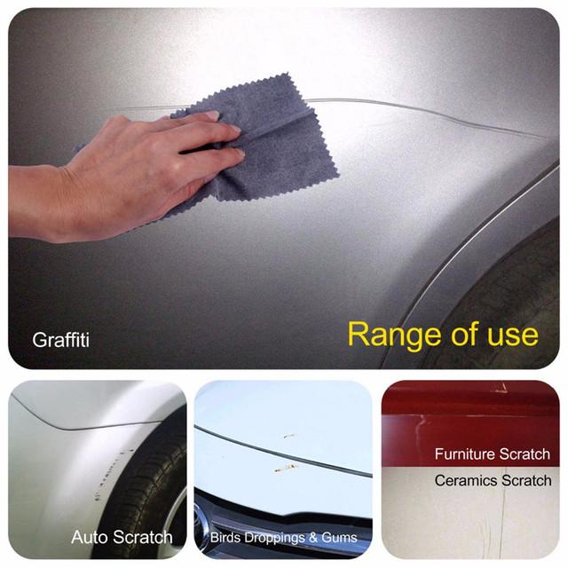 Fix Clear Car Scratch Repair Cloth Nano meterial for Car Light Paint Scratches Remover Scuffs on Surface Repair Rag
