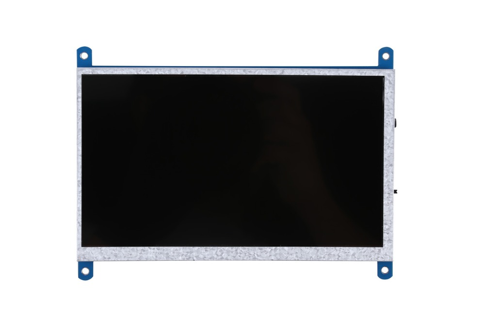 Image 4 - New 7 inch 1024x600 USB HDMI LCD Display Monitor Capacitive Touch Screen Holder Case For Raspberry Pi 3 B+ 3B Plus-in Demo Board Accessories from Computer & Office