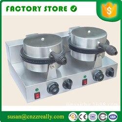 110V/220V 2000W Ice cream cone baker Electricity stainless steel machine Ice cream cone baker maker 1PC