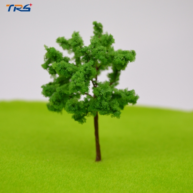 Teraysun Architectural Wire Tree Model 50pcs Miniature Model Wire Tree 90mm for Model Building Material Kits Toy