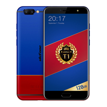 Ulefone T1 Premium Edition 4G Telephone 5.5 inch Helio P25 Octa Core 6GB RAM 128GB ROM Front Touch Sensor Dual Rear Camera Phone