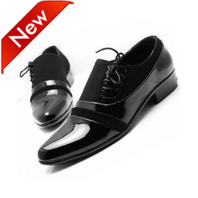 Best selling men brand oxford shoes man formal office shoes male classic british shoe men's career shoes free shipping