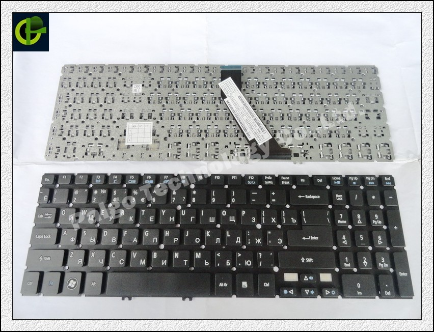 Russian Keyboard for Acer Aspire V5-552 V5-552G V5-552P V5-572 V5-572G V5-572P V5-573 V5-573G V5-573P RU Black keyboard diatone v5 0 power hub
