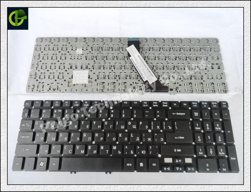 Russian Keyboard for Acer Aspire V5-552 V5-552G V5-552P V5-572 V5-572G V5-572P V5-573 V5-573G V5-573P RU Black keyboard laptop keyboard for acer aspire v5 571 ru russian layout backlight black without frame