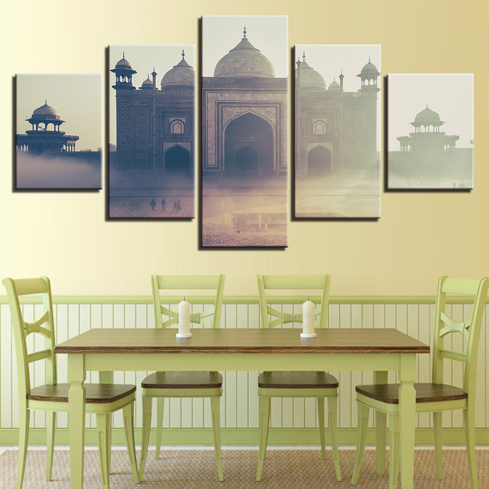 Canvas Wall Art Pictures Framework Living Room HD Prints Church ...