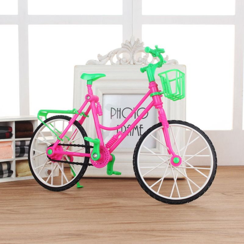 Doll Bicycle Bike House For Doll Accessories Girls Gift