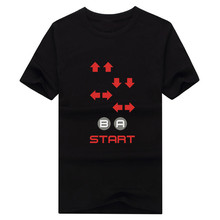 The Code For Contra Retro, Video Game t-shirt MANY COLORS & SIZES Fashion T SHIRT 1025-5