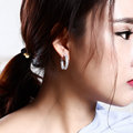 Интересно и приятно хооп серьги для женщин интернет-магазины индия Серьги мода ювелирные изделия Платина Покрыли oorbellen