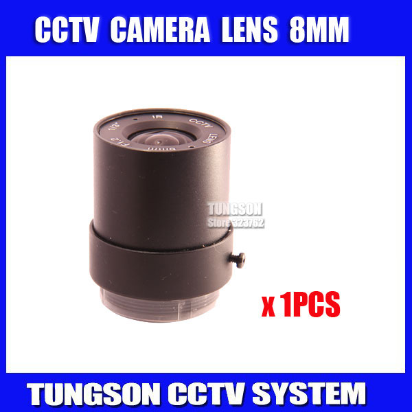 Factory Direct 1/3 HD F1.2 Fixed Iris IR Infrared 8mm CS For Metal CCTV Lens Board Camera .Free Shipping 2 8mm fixed iris ir lens 1 3 cs f1 2 cctv camera