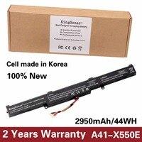 Korea Cell Original New Laptop Battery A41 X550E For ASUS X450 X450E X450J X450JF X751L A450J