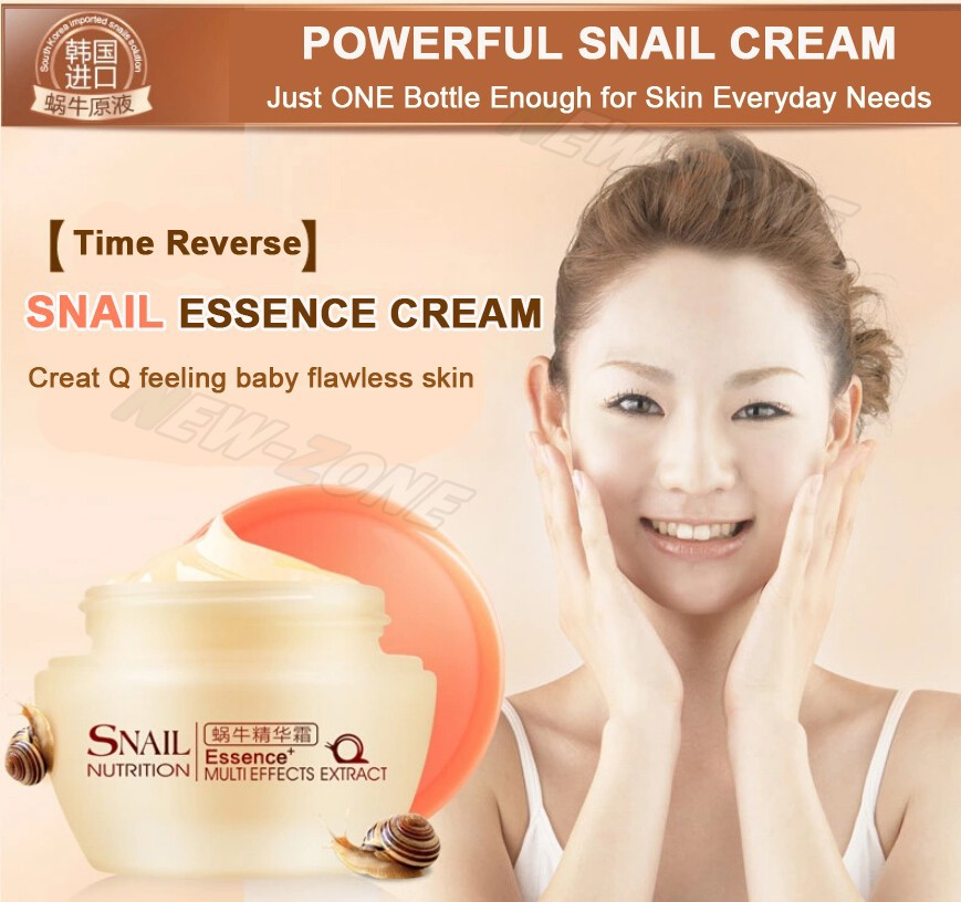 Powerful Multi Effect Snail Essence Cream Collagen Eliminates wrinkles Remove Acne Scar Whitening Anti aging Face Care Day Cream 1