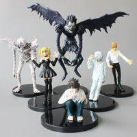 Anime Death Note L Killer Ryuuku Rem Misa Amane PVC Action Figures Toys Dolls 6pcs/set