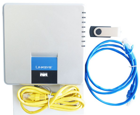 Free Shipping Unlocked Linksys SPA400 IP PBX Internet 4 Ports FXO Voicemail VoIP Phone Adapter no